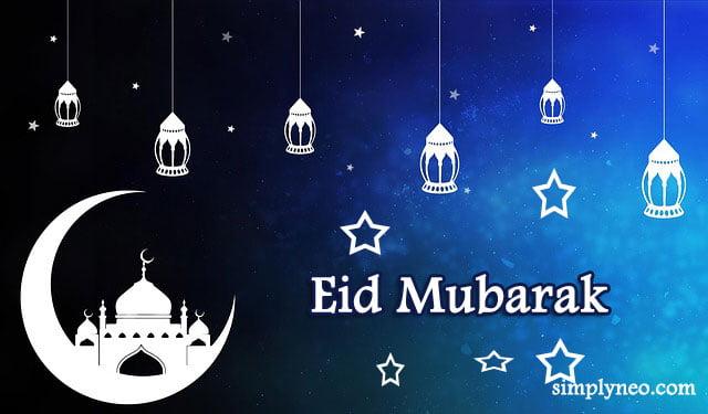 Eid Mubarak - Ramadan Mubarak Wishes, Messages