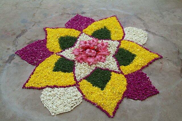 pookkalam, Pongal rangoli design, kolam, pokalam, Beautiful Pongal Kolam and Pongal Rangoli Designs
