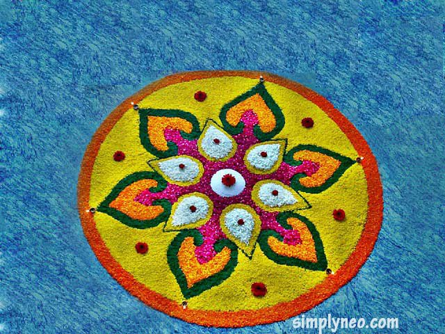 pookkalam, Pongal rangoli design, kolam, pokalam, Beautiful Pongal Kolam and Pongal Rangoli Designs
