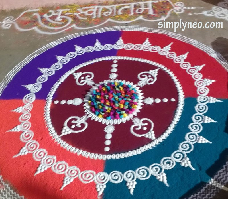 Pongal rangoli design, kolam, pokalam, Beautiful Pongal Kolam and Pongal Rangoli Designs